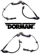 For Escape Mariner Set Pair of 2 Front Anti-Lock Brake Sensors w/ Harness Dorman