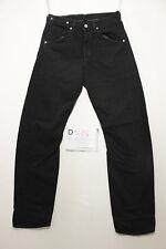 Levi's engineered 843 black boyfriend jeans used (Cod.D518) Size 44 W30 L34