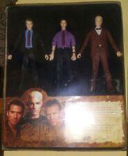 Buffy Vampire Slayer Watchers Guide figure set Spike Wesley Giles