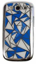 Fundas y carcasas color principal azul estampado para teléfonos móviles y PDAs