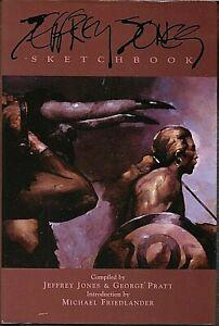 Jeffrey Jones Sketchbook Hardcover/Vanguard Press/2000/First Printing