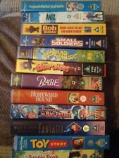 Vhs Video x12 Childrens Vhs Bundle/Joblot Antz Babe Toy Story The Big Freeze ...