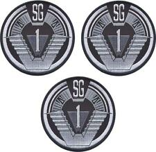 Stargate SG1 Logo Set Of 3 Group 1 Uniform Shoulder Patches