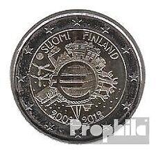 Finland 2012 Stgl./ongecirculeerd 2012 2 Euro 10 Years Euro Cash