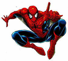 """5"""" SPIDER-MAN MARVEL COMICS WALL BORDER PREPASTED CHARACTER CUT OUT CHARACTER"""