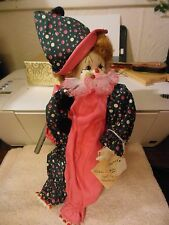 Cynthia De Hoff 1983 modern doll convention Coco the clown doll
