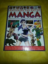 Mastering the Art of Manga Learn to Draw Manga Step by Step 1000 Illustrations