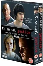 Criminal Justice Series 1 + 2 Season One Two Region 4 DVD New (4 Discs)