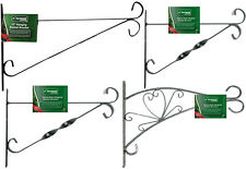 "Traditional Hanging Basket Wall Brackets - 10"" 12"" and 15"" - AWAITING STOCK"