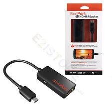 Slimport MyDp to HDMI Adapter HDTV Video Audio For LG G4 G3 G2 G Pro Flex 2