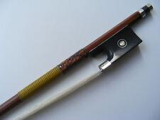 Free shipping Pernambuco Octagonal Violin Bow Silver Mounted Frog 4/4 Bow New
