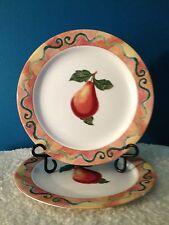 """Epoch """"Somerville""""  E107  10-3/4"""" Dinner Plates Set of (2)"""