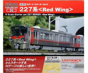 Kato 10-014 Starter Set Series 227 ( Red Wing ) N Scale