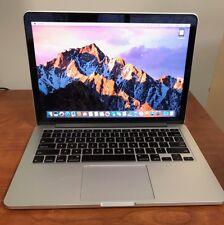 Retina MacBook Pro 13-Inch (Late 2012)  2.5GHz | 256 GB SSD | 8GB RAM