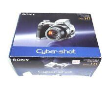 Sony Cyber-shot DSC-H1 Digital Camera 5.1 MP 12x Zoom User Guide Manuals Floppy