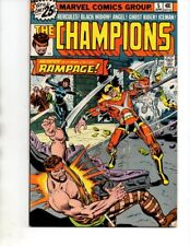 The Champions#5 (Marvel 1975) Ghost Rider,Black Widow,Hercules-VF-