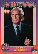 Richard Widmark, Actor, Hollywood Star, Walk of Fame Trading Card - NOT Postcard