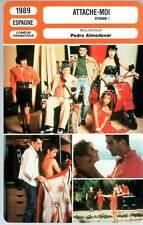 ATTACHE-MOI - Abril,Banderas (Fiche Cinéma) 1989 - Atame/Tie Me Up! Tie Me Down!
