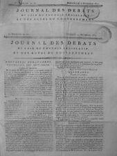 1822 - 74 INSTITUTION PAIRIE LETTRE PATENTE PRINCE DE TALLEYRAND DUC MONTESQUIEU