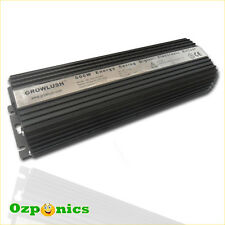 2x HYDROPONICS 600w ELECTRONIC BALLAST MH/HPS HYDROPONIC LIGHTING GROWLUSH BLACK