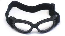 3M™ RoadBurners® Safety Glasses, Safety Goggles, Black Frame  Clear Lens