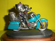Chilmark Pewter Mickey Mouse HEAD OUT ON THE HIGHWAY-LE