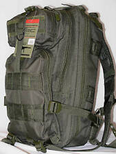 Survival Backpack OD Olive Drab Fox Outdoor Medium 3-Day Military Molle Tactical