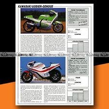 ★ GODIER-GENOUD 1100 ZR & BIMOTA DB1 ★ 1986 Essais Moto / Road Test #a795