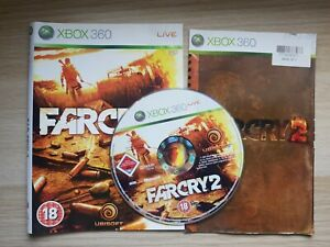 Far Cry 2  Xbox 360 ** ARTWORK,MANUAL  & DISC ONLY **