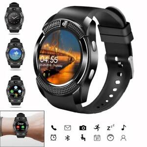 Men's Bluetooth Smart Watch Fitness Tracker with Pedometer for Huawei Samsung LG
