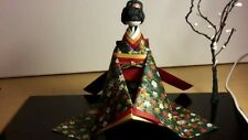 Japanese Style Seated Paper Doll