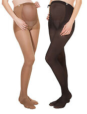 Maternity Stockings Support Tights Pregnancy Kompressions-Strumpfhose 140DEN