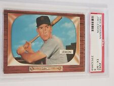 1955 Bowman Jim Lemon #262 PSA 6 EX-MT Washington Senators