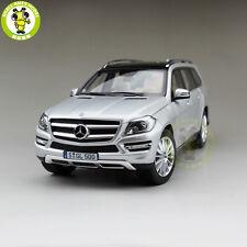 1/18 Mercedes-Benz GLS 500 Diecast Model SUV Car Silver