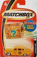 Matchbox Checker Taxi #4 Bonus Prize Card!