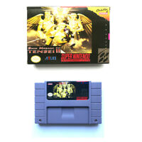 Shin Megami Tensei II for snes game cartridge english translated