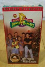 MIGHTY MORPHIN POWER RANGERS I'm Dreaming of a White Ranger VHS VIDEO CHRISTMAS