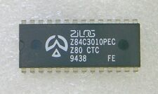 2 Stk  Z84C30-10PEC = Z80 CMOS CounterTimer = 10MHz !!! = original ZILOG = NOS =