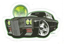 GREEN HORNET AUTOMOBILE   Sticker Decal