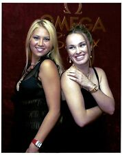 Anna Kournikova - Martina Hingis 8x10 Photo