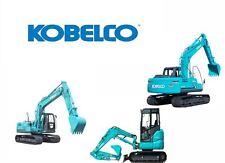 KOBELCO SK60V MINI EXCAVATOR SERVICE AND REPAIR MANUAL