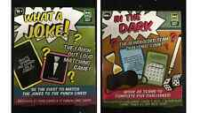 2 Game Set Bundle - In The Dark PLUS What A Joke! Game Sets Christmas Present