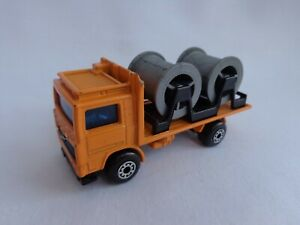 Matchbox Lesney Superfast No26 Volvo Cable Truck VERY RARE WIDE 5ARCH Wheels