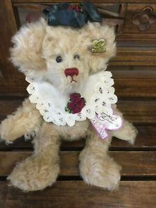 "Beautiful  Annette Funicello 14"" Mohair Bear"