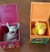 1995 Disney The Lion King Finger Puppets - Burger King Kids Club Toy