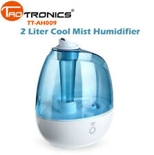 TaoTronics Cool Mist Humidifier 2 Liter Quiet Waterless Bpa-Free Tt-Ah009 Di09