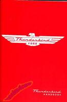 THUNDERBIRD 1955 FORD OWNERS MANUAL OWNER'S BOOK HANDBOOK GUIDE T-BIRD TBIRD