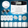 Wireless GSM SMS Home Security Burglar House Fire Alarm System Auto Dialer US