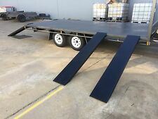 BRAND NEW Table Top Flat bed Trailer TANDEM AXLE 4.8X2150 DECK 2T QUADS BIKES