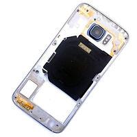 100% Genuine Samsung Galaxy S6 rear side housing+back camera glass Black G920F